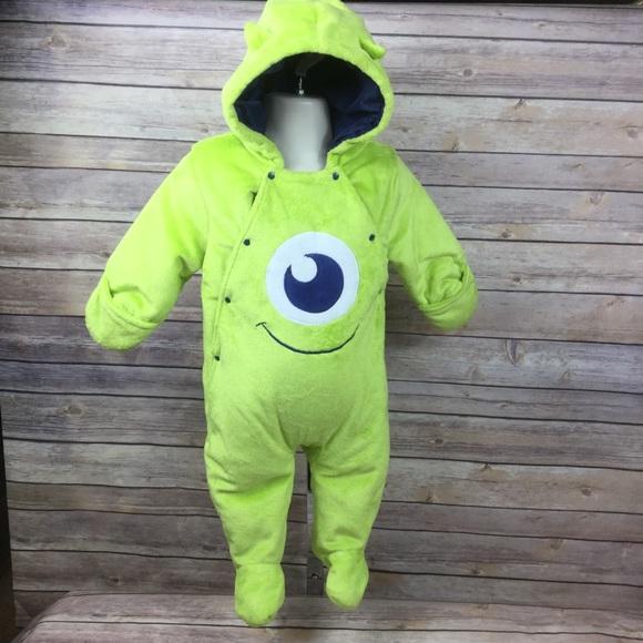 Disney Costumes Mike Wazowski Monsters Inc Baby Costume One Piece Poshmark